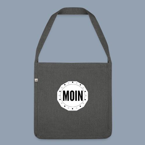 Moin - typisch emsländisch! - Schultertasche aus Recycling-Material