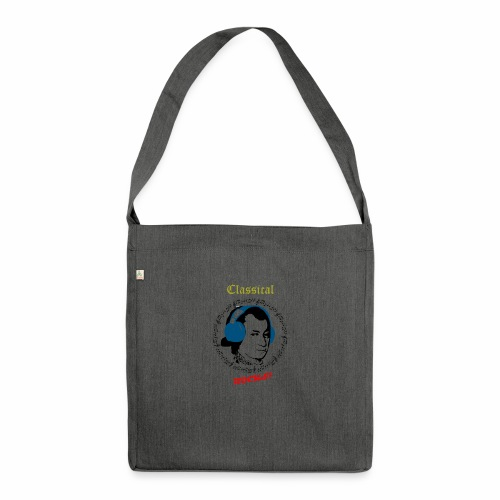 Classical Rocks! - Shoulder Bag made from recycled material