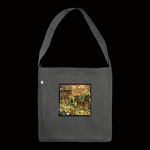 String Up My Sound Artwork - Shoulder Bag made from recycled material