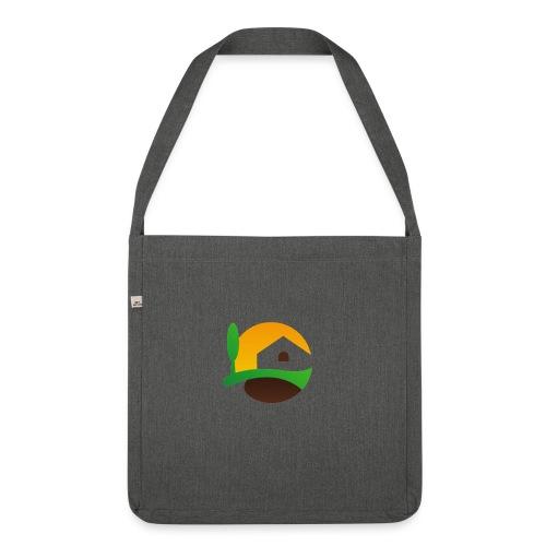 Neues Logo ohne Schriftzug - Schultertasche aus Recycling-Material