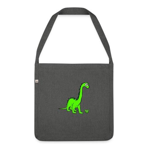 dinosauro - Borsa in materiale riciclato