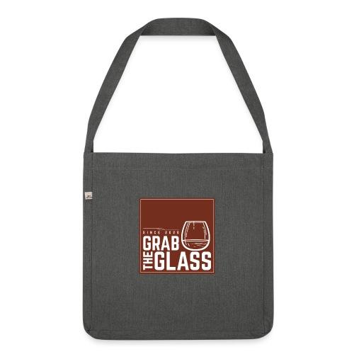Grabtheglass LOGO - Schultertasche aus Recycling-Material