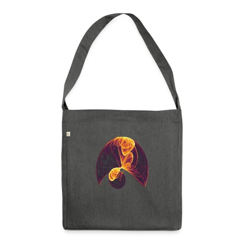Parachute in the Inferno - Shoulder Bag made from recycled material