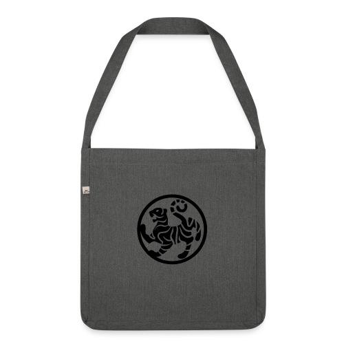 shotokansign vektor - Schultertasche aus Recycling-Material
