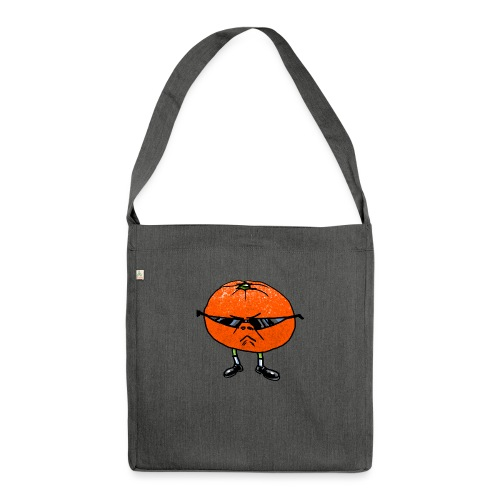 Tangerine Man - Shoulder Bag made from recycled material