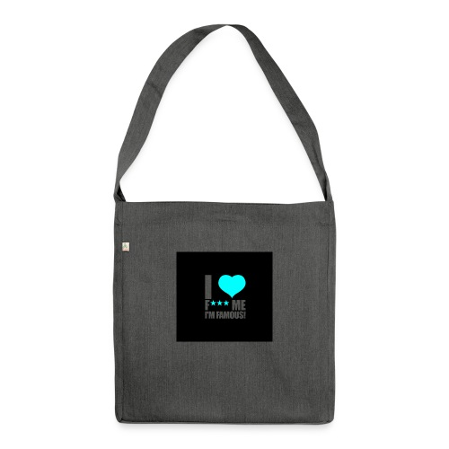 I Love FMIF Badge - Sac bandoulière 100 % recyclé