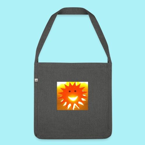 Soleil Souriant - Sac bandoulière 100 % recyclé