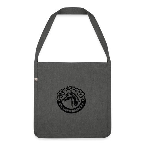 horse logo notsobig01 - Schultertasche aus Recycling-Material