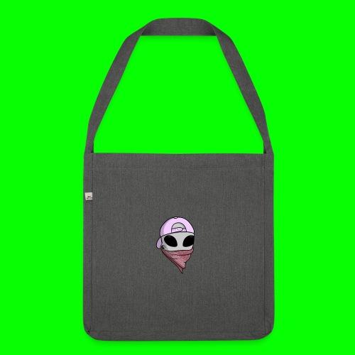 gangsta alien logo - Borsa in materiale riciclato