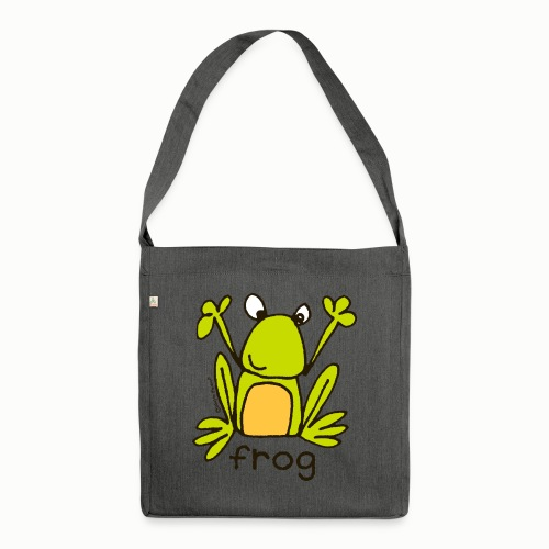 frog - Bang on the Door - Shoulder Bag made from recycled material