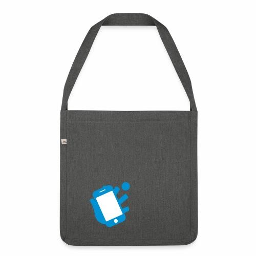 Smartphone-Tennis Logo Print - Schultertasche aus Recycling-Material