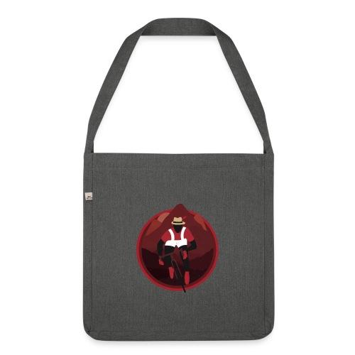Shirt Mascot Badge png - Shoulder Bag made from recycled material