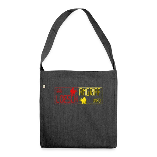 logo2014rotgelb png - Schultertasche aus Recycling-Material