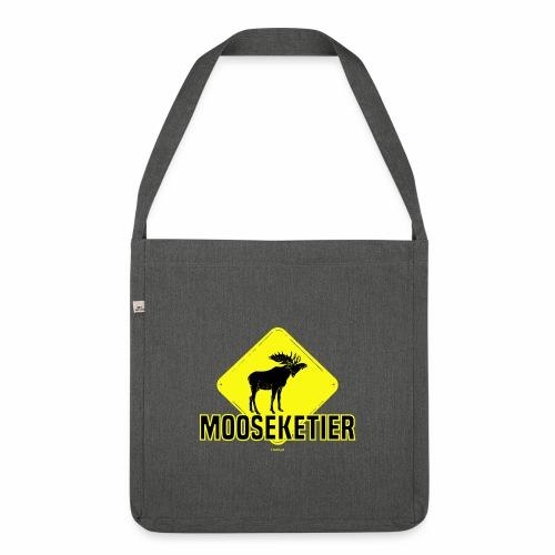 Moosketier - Schoudertas van gerecycled materiaal