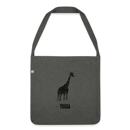 Girafe (H) - Sac bandoulière 100 % recyclé