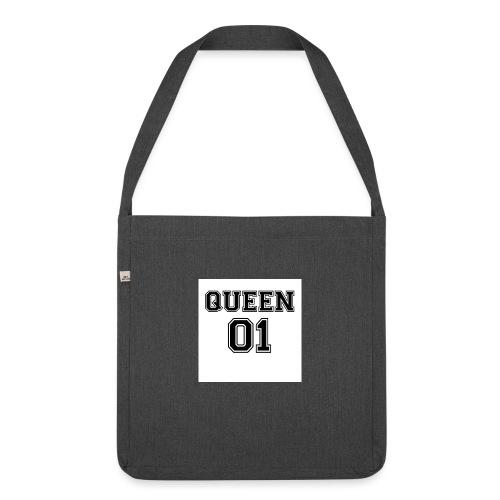 Queen 01 - Sac bandoulière 100 % recyclé
