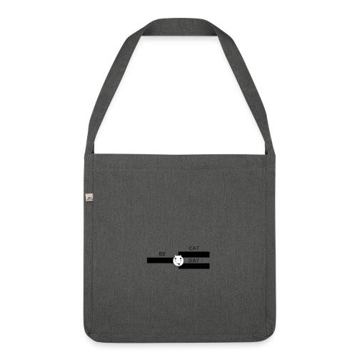 Be Dat Cat   Alf Da Cat - Shoulder Bag made from recycled material