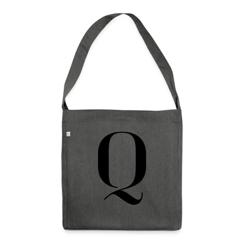 Q - Shoulder Bag made from recycled material