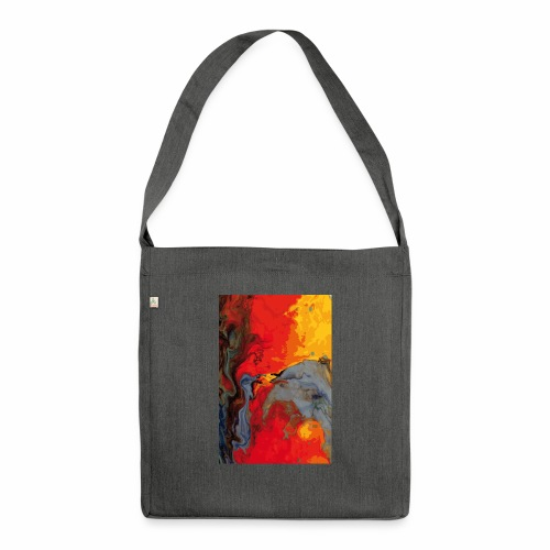 Magma - Schultertasche aus Recycling-Material