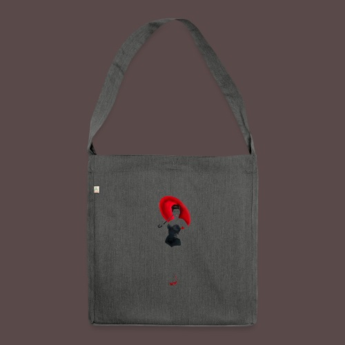 Pin up - Red Umbrella - Borsa in materiale riciclato