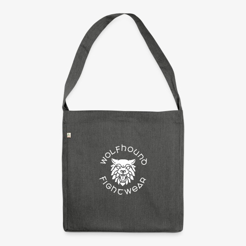 logo round w - Shoulder Bag made from recycled material