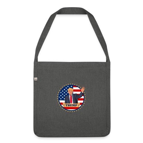 Trump - Schultertasche aus Recycling-Material
