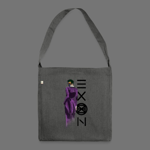 Emotionless Passion Exon - Shoulder Bag made from recycled material