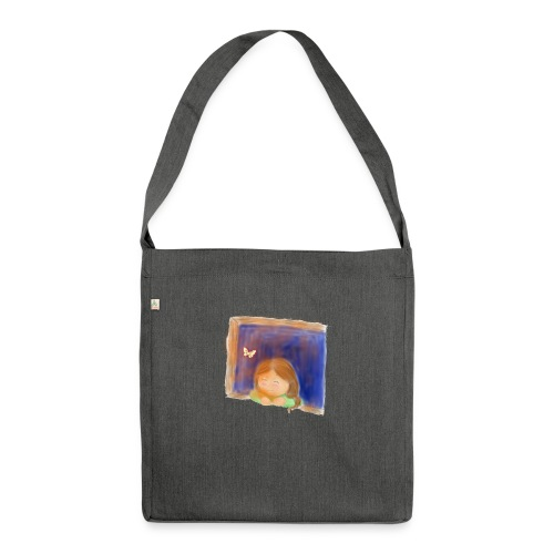Fensterling solo 3 - Schultertasche aus Recycling-Material