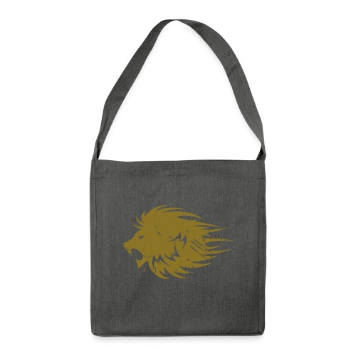 MWB Print Lion Orange - Shoulder Bag made from recycled material