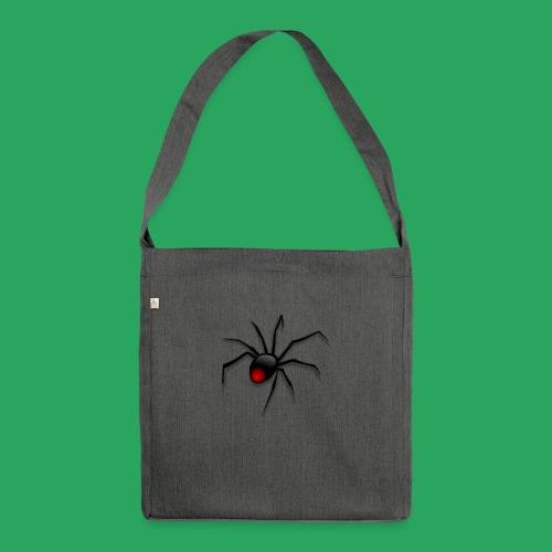 spider logo fantasy - Borsa in materiale riciclato