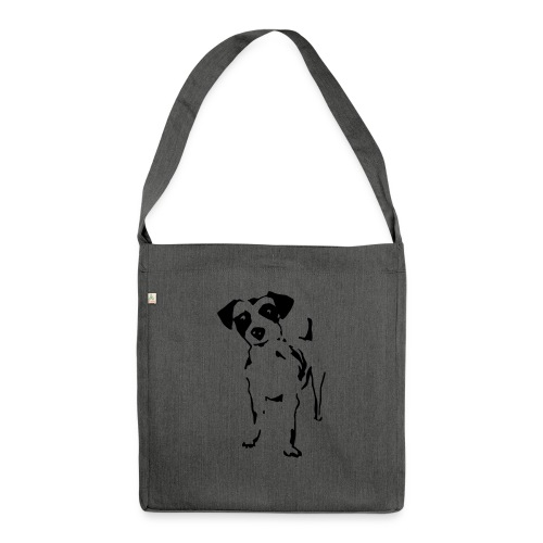 Jack Russell Terrier - Schultertasche aus Recycling-Material