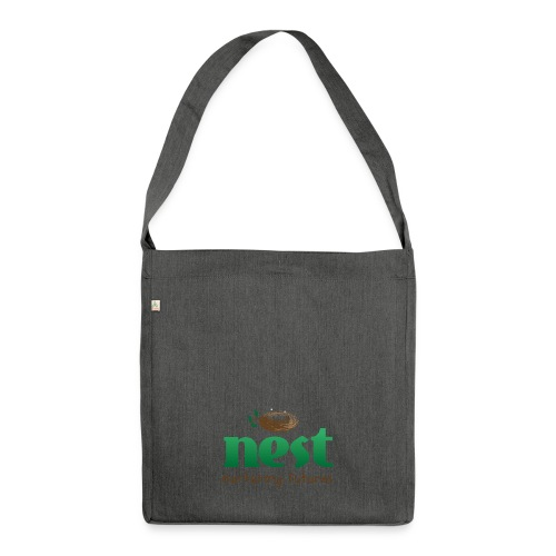 Nest Nurturing Futures Branded Items - Shoulder Bag made from recycled material