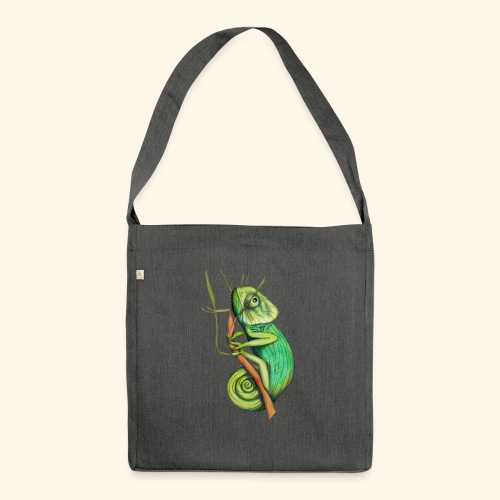 green chameleon - Borsa in materiale riciclato