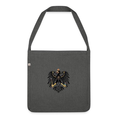 Preussischer Adler - Schultertasche aus Recycling-Material