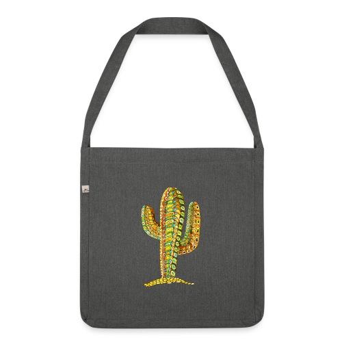 Le cactus - Sac bandoulière 100 % recyclé