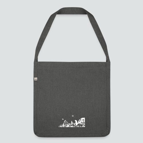 Hipster Labuversum png - Schultertasche aus Recycling-Material