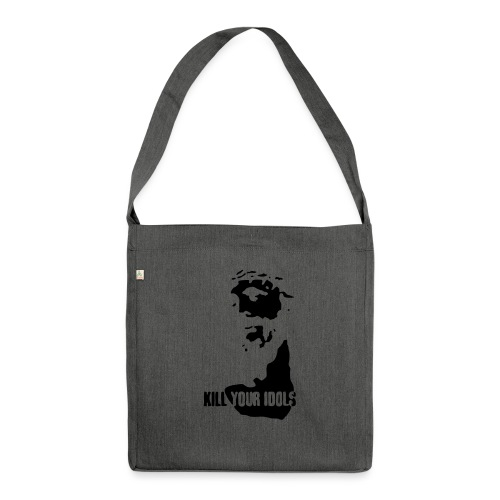 Kill your idols - Shoulder Bag made from recycled material