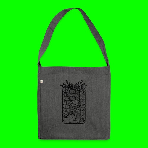 Return to the Dungeon - Shoulder Bag made from recycled material