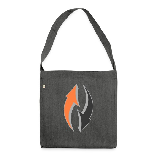 arrows (Saw) - Shoulder Bag made from recycled material