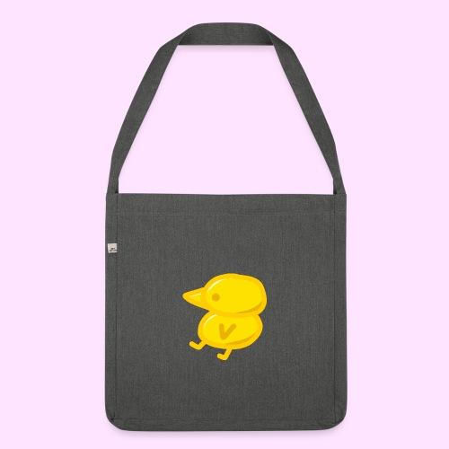 Golden Pinkguin - Skuldertaske af recycling-material