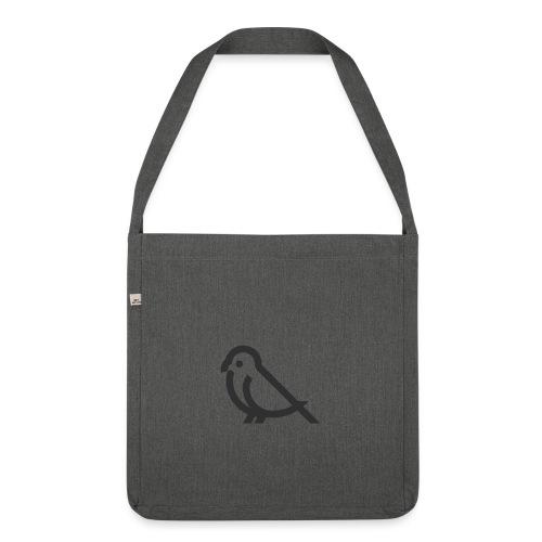 Bird - Schultertasche aus Recycling-Material