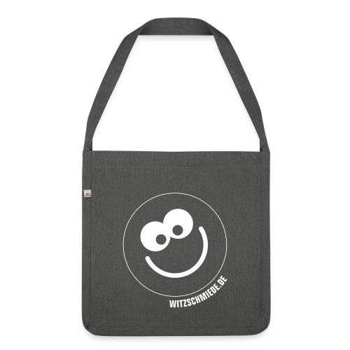 17 3W Witzschmiede Smiley - Schultertasche aus Recycling-Material