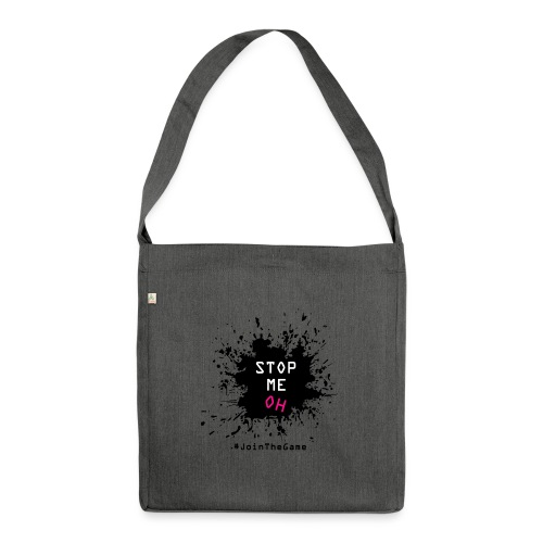 Stop me oh - Shoulder Bag made from recycled material