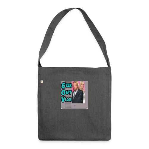 GeekOut Vlogs NES logo - Shoulder Bag made from recycled material