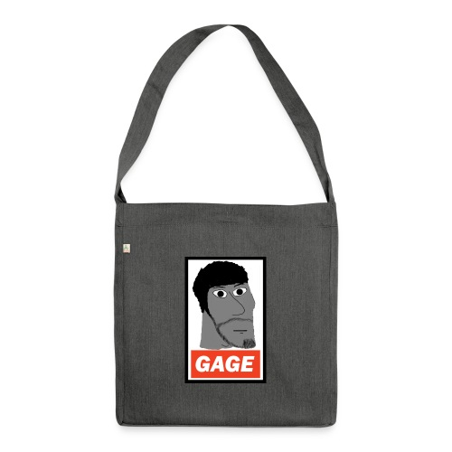 Chad Gage - Shoulder Bag made from recycled material