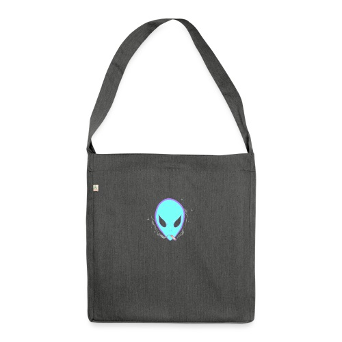 People alienate me. I'm out of this world - Shoulder Bag made from recycled material