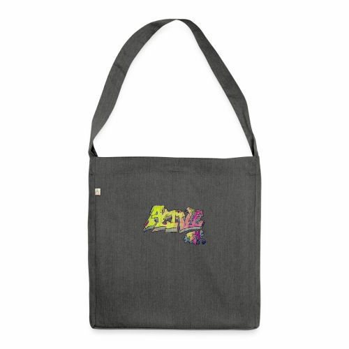 ALIVE TM Collab - Shoulder Bag made from recycled material