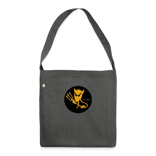 ElectroDevil T Shirt - Shoulder Bag made from recycled material