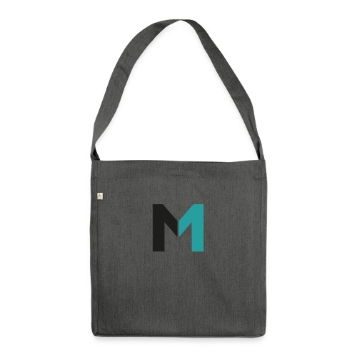 Logo M - Schultertasche aus Recycling-Material