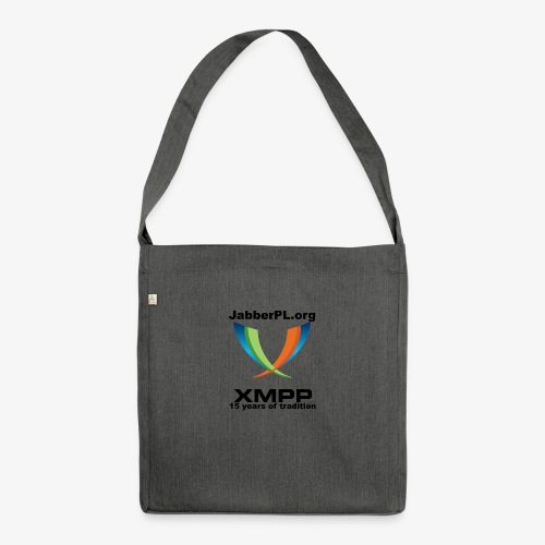JabberPL.org XMPP - Shoulder Bag made from recycled material